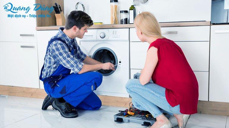 chuẩn đoán lỗi máy giặt electrolux
