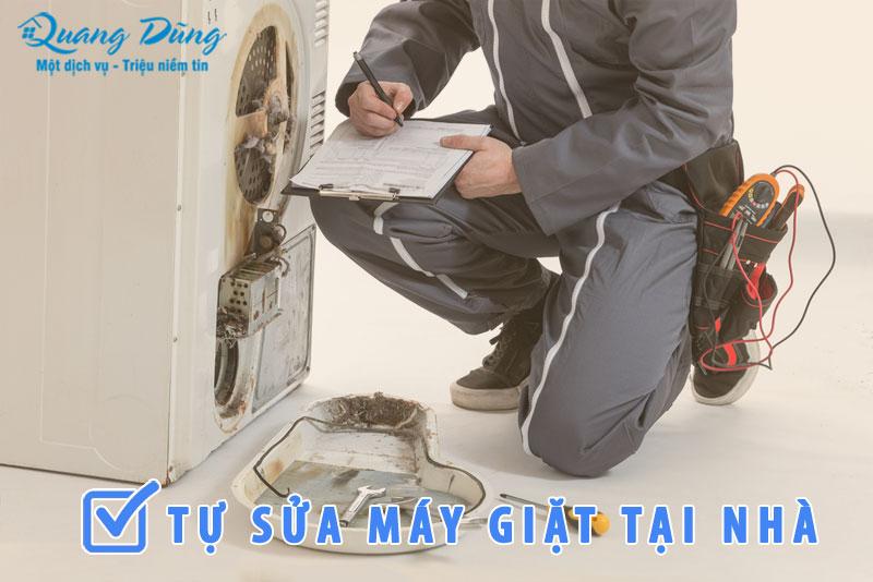 hướng dẫn tự sửa máy giặt electrolux tại nhà