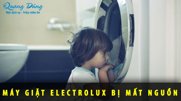 lỗi máy giặt electrolux bị mất nguồn