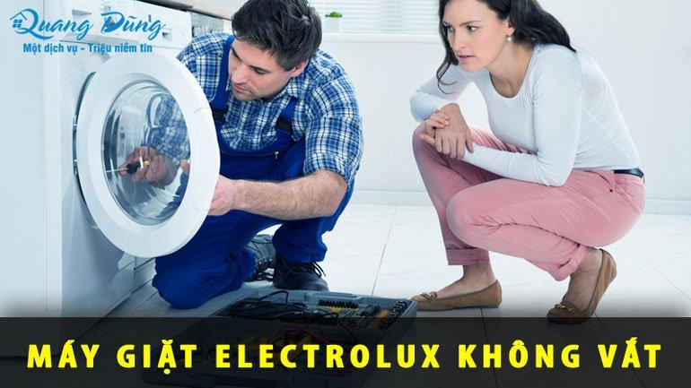 lỗi máy giặt electrolux không vắt