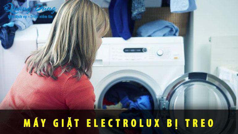 máy giặt electrolux bị treo