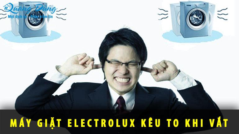 máy giặt electrolux kêu to khi vắt