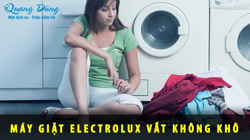 máy giặt electrolux vắt không khô