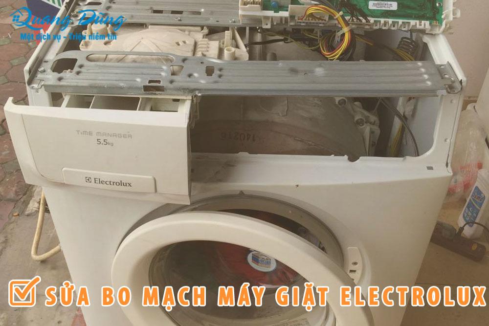 sửa bo mạch máy giặt electrolux