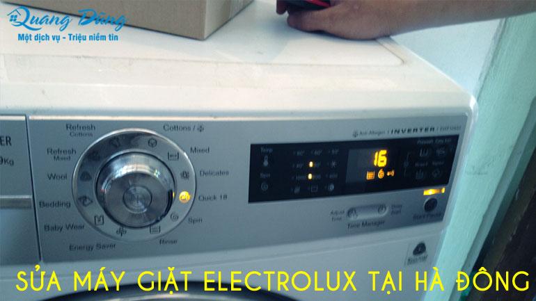 sửa máy giặt eletrolux tại hà đông