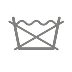 biểu tượng không được giặt