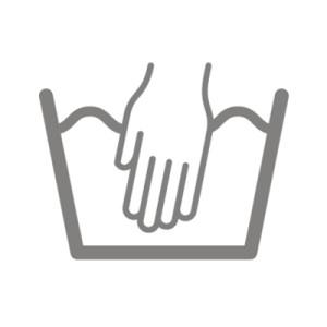 biểu tượng giặt tay