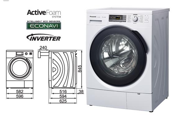 các dòng máy giặt mới