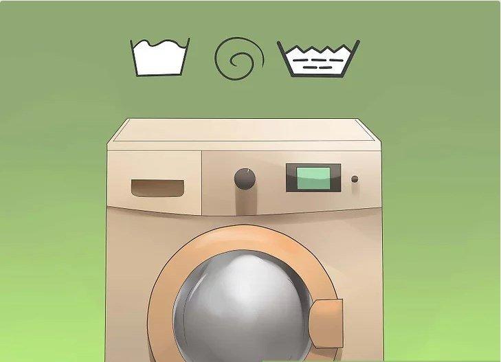 cách làm sạch bên trong máy giặt