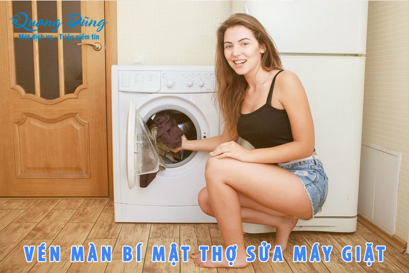 vén màn bí mật của thợ sửa máy giặt electrolux
