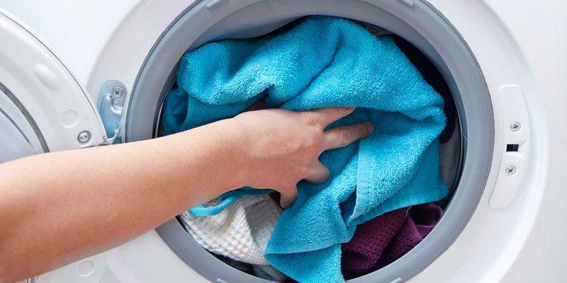 Cách giặt khăn lau bằng máy giặt