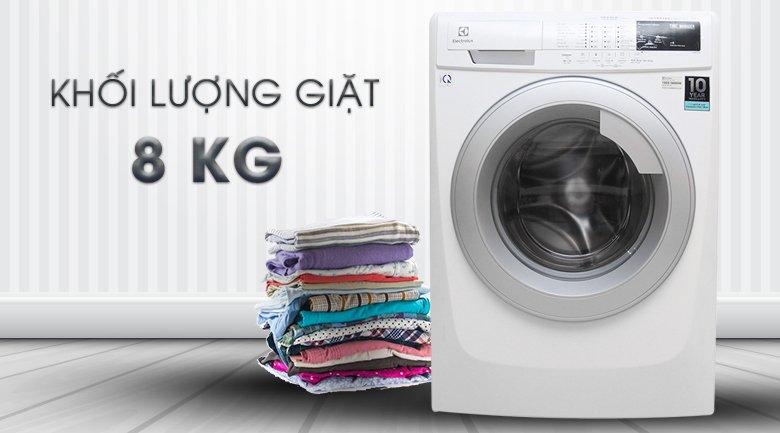 Kích thước Máy giặt Electrolux Inverter 8 kg EWF10844