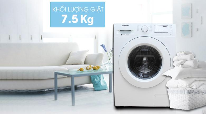 kích thước Máy giặt Samsung inverter 7.5 kg WW75J4233KW/SV